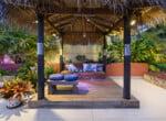 Bali Hut dusk web