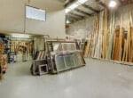 Warehouse facing office web